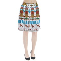 Coat of Arms of Guyana Pleated Skirt by abbeyz71