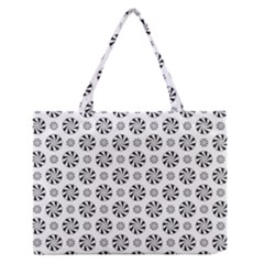 Holidaycandy Overlay Medium Zipper Tote Bag by Jojostore