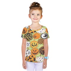 Print Halloween Kids  One Piece Tee by Jojostore