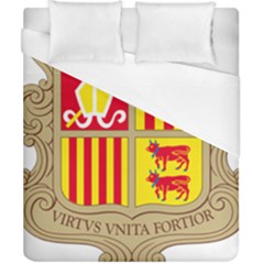 Coat Of Arms Of Andorra Duvet Cover (california King Size) by abbeyz71