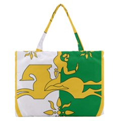 Coat of Arms of Abkhazia Medium Zipper Tote Bag by abbeyz71