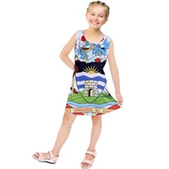 Coat Of Arms Of Antigua And Barbuda Kids  Tunic Dress by abbeyz71