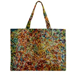 Art Modern Painting Acrylic Canvas Zipper Mini Tote Bag by Amaryn4rt