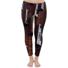 Abstract Architecture Building Business Classic Winter Leggings by Amaryn4rt