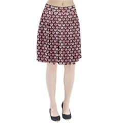 SCA3 BK-RW MARBLE (R) Pleated Skirt by trendistuff