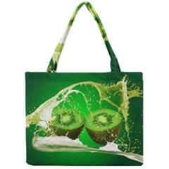 Kiwi Fruit Vitamins Healthy Cut Mini Tote Bag by Amaryn4rt