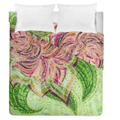 Colorful Design Acrylic Duvet Cover Double Side (Queen Size) by Amaryn4rt