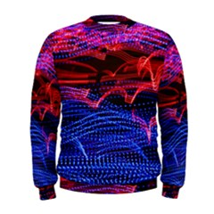 Lights Abstract Curves Long Exposure Men s Sweatshirt by Amaryn4rt