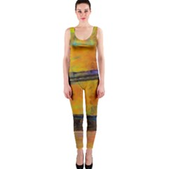 London Tower Abstract Bridge Onepiece Catsuit by Amaryn4rt