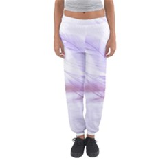 Ring Feather Marriage Pink Gold Women s Jogger Sweatpants by Amaryn4rt