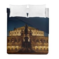 Dresden Semper Opera House Duvet Cover Double Side (full/ Double Size)