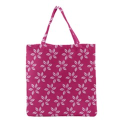 Flower Roses Grocery Tote Bag by AnjaniArt