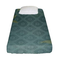 Shadow Flower Fitted Sheet (single Size)