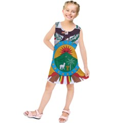 Coat Of Arms Of Bolivia  Kids  Tunic Dress by abbeyz71