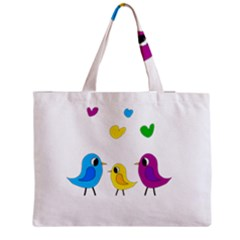 Bird Family Medium Tote Bag by Valentinaart