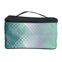Background Bubblechema Perforation Cosmetic Storage Case by Amaryn4rt