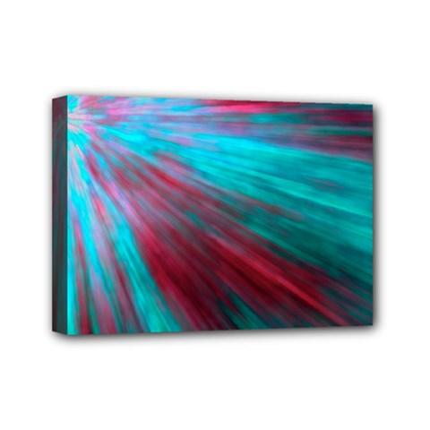 Background Texture Pattern Design Mini Canvas 7  X 5  by Amaryn4rt