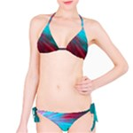 Background Texture Pattern Design Bikini Set