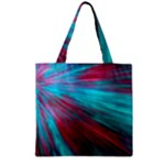 Background Texture Pattern Design Zipper Grocery Tote Bag