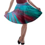 Background Texture Pattern Design A-line Skater Skirt