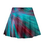 Background Texture Pattern Design Mini Flare Skirt