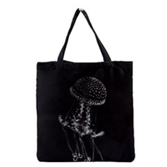 Jellyfish Underwater Sea Nature Grocery Tote Bag by Amaryn4rt