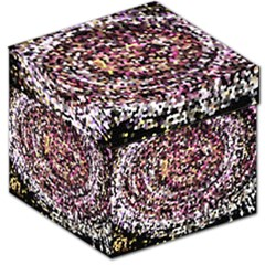 Mosaic Colorful Abstract Circular Storage Stool 12   by Amaryn4rt