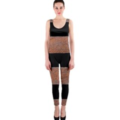 Stainless Rust Texture Background Onepiece Catsuit by Amaryn4rt