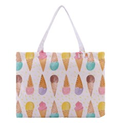 Colorful Ice Cream  Medium Tote Bag by Brittlevirginclothing