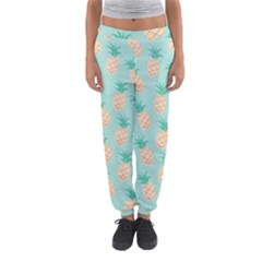 Cute Pineapple Women s Jogger Sweatpants by Brittlevirginclothing