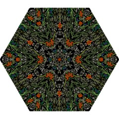 Detail Of The Collection s Floral Pattern Mini Folding Umbrellas by Jojostore