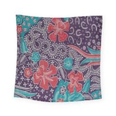 Madura Batik Square Tapestry (small) by Jojostore