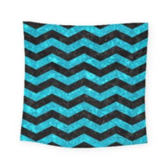 CHV3 BK-TQ MARBLE Square Tapestry (Small)
