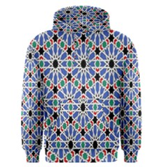Background Pattern Geometric Men s Pullover Hoodie