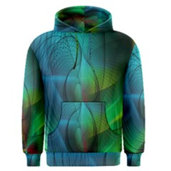 Background Nebulous Fog Rings Men s Pullover Hoodie