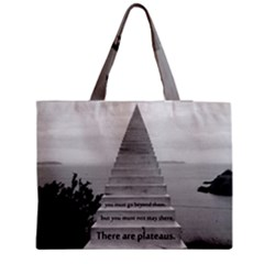 Steps To Success Follow Medium Tote Bag by FrontlineS
