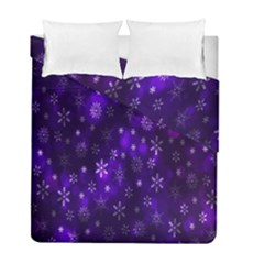 Bokeh Background Texture Stars Duvet Cover Double Side (full/ Double Size) by Amaryn4rt