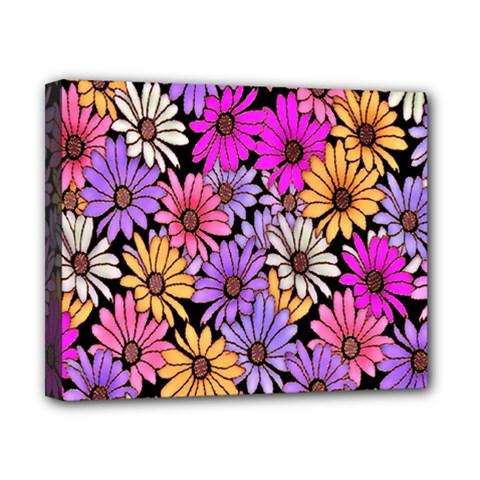 Floral Pattern Canvas 10  X 8  by Amaryn4rt
