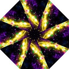Galaxy Deep Space Space Universe Stars Nebula Hook Handle Umbrellas (large) by Amaryn4rt