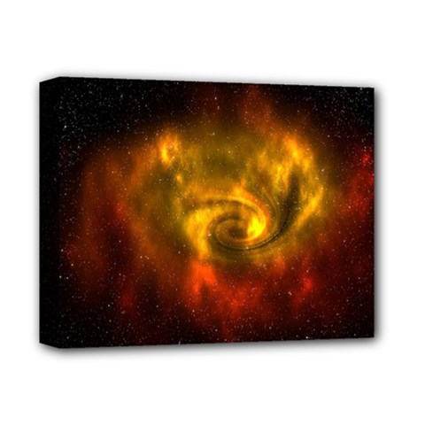 Galaxy Nebula Space Cosmos Universe Fantasy Deluxe Canvas 14  X 11  by Amaryn4rt