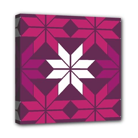 Pattern Background Texture Aztec Mini Canvas 8  X 8