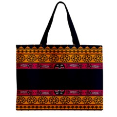 Pattern Ornaments Africa Safari Summer Graphic Zipper Mini Tote Bag by Amaryn4rt