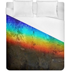 Rainbow Color Prism Colors Duvet Cover (california King Size) by Amaryn4rt