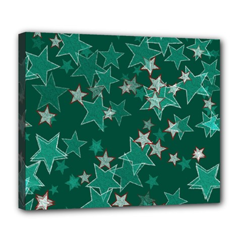 Star Seamless Tile Background Abstract Deluxe Canvas 24  X 20   by Amaryn4rt
