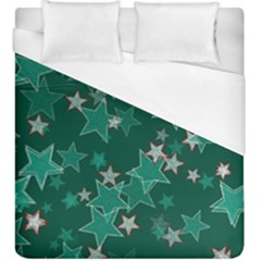 Star Seamless Tile Background Abstract Duvet Cover (king Size)