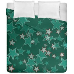 Star Seamless Tile Background Abstract Duvet Cover Double Side (california King Size) by Amaryn4rt