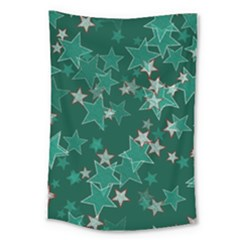 Star Seamless Tile Background Abstract Large Tapestry by Amaryn4rt