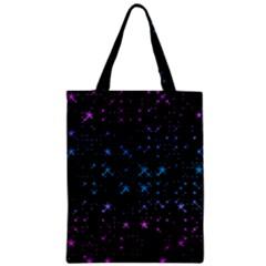 Stars Pattern Seamless Design Zipper Classic Tote Bag by Amaryn4rt