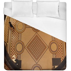 The Elaborate Floor Pattern Of The Sydney Queen Victoria Building Duvet Cover (king Size)
