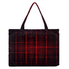 Black And Red Backgrounds Medium Zipper Tote Bag